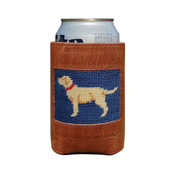 Yellow Lab Needlepoint Can Cooler Smathers Amp Branson