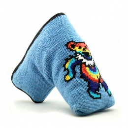 bef163119bd Dancing Bear Tie Dye Needlepoint Putter Headcover