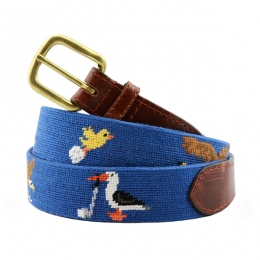 926b671c7fe Birdie Eagle Albatross Needlepoint Belt