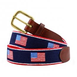 American Flag Stripe Needlepoint Belt 4b742f88fc