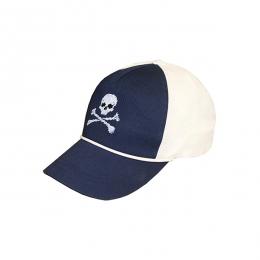 Jolly Roger Rope Snapback Hat (Navy-White) 9325b9eb3469